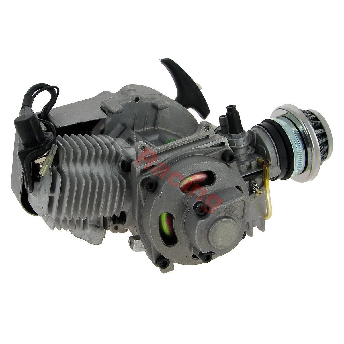 UD-Racing.at, 60.66EUR, * Motor 49 ccm + Anlasser alu + Filter ...